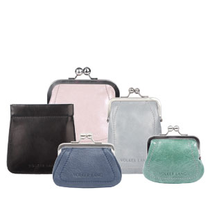 Purses with clip closure